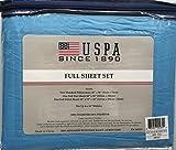 U.S. Polo Association Soft High Quality Solid Sheet Set, 100% Polyester - ...